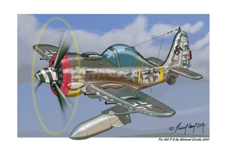 FW190F8CARICATURAcolor